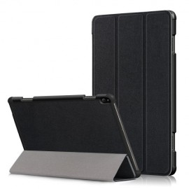 Smart Book Case Lenovo Tab P10 Hoesje - Zwart