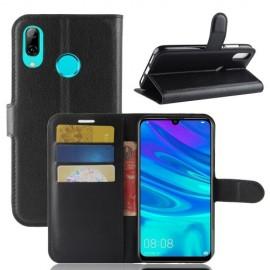Book Case Huawei Y7 (2019) Hoesje - Zwart