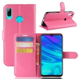 Book Case Huawei Y7 (2019) Hoesje - Roze