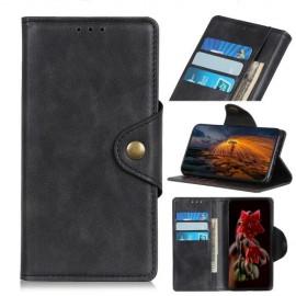 Luxe Book Case Samsung Galaxy A50 Hoesje - Zwart