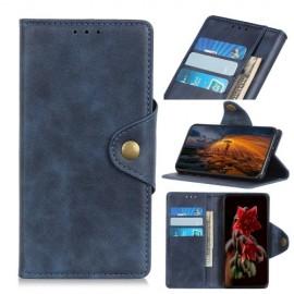 Luxe Book Case Samsung Galaxy A50 Hoesje - Blauw