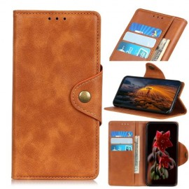 Luxe Book Case Samsung Galaxy A50 / A30s Hoesje - Bruin