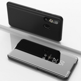 Mirror View Case Samsung Galaxy A50 / A30s Hoesje - Zwart