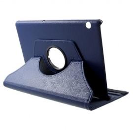 360 Rotating Case Huawei MediaPad T5 10 Hoesje - Donkerblauw