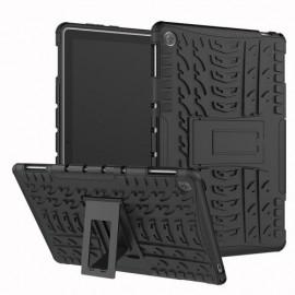 Rugged Kickstand Huawei MediaPad M5 Lite 10 Hoesje - Zwart