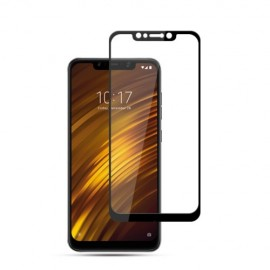 Full-Cover Tempered Glass Xiaomi Pocophone F1 - Zwart