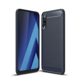 Armor Brushed TPU Samsung Galaxy A50 Hoesje - Blauw
