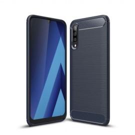 Armor Brushed TPU Samsung Galaxy A50 Hoesje - Blauw