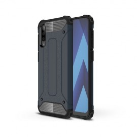 Armor Hybrid Samsung Galaxy A50 / A30s Hoesje - Donkerblauw