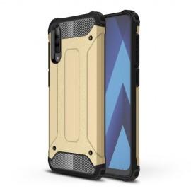 Armor Hybrid Samsung Galaxy A70 Hoesje - Goud