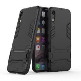 Armor Kickstand Huawei Y6 (2019) Hoesje - Zwart