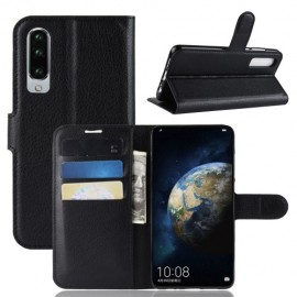 Book Case Huawei P30 Hoesje - Zwart