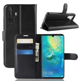 Book Case Huawei P30 Pro Hoesje - Zwart