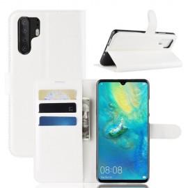 Book Case Huawei P30 Pro Hoesje - Wit
