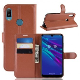 Book Case Huawei Y6 (2019) / Y6s Hoesje - Bruin