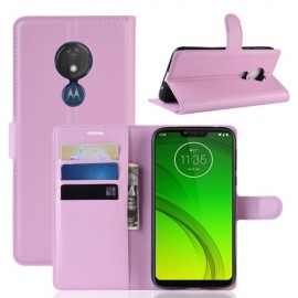 Book Case Motorola Moto G7 Power Hoesje - Pink