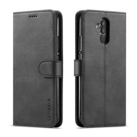 Luxe Book Case Huawei Mate 20 Lite Hoesje - Zwart