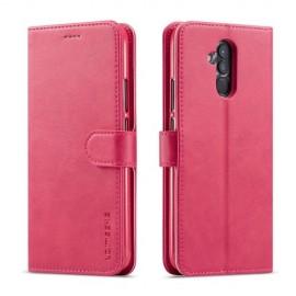 Luxe Book Case Huawei Mate 20 Lite Hoesje - Roze