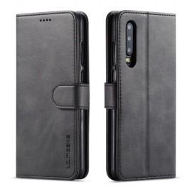 Luxe Book Case Huawei P30 Hoesje - Zwart