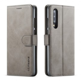 Luxe Book Case Huawei P30 Hoesje - Grijs