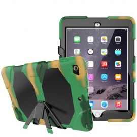 Heavy Duty Case iPad 9.7 (2018) / (2017) Hoesje - Camouflage
