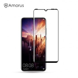 Full-Cover Tempered Glass Huawei P30 Pro Hoesje - Zwart
