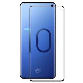 3D Curved Screen Protector Samsung Galaxy S10 - Zwart