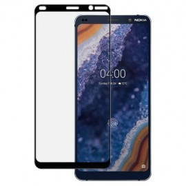Full-Cover Tempered Glass Nokia 9 PureView - Zwart