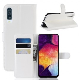 Book Case Samsung Galaxy A50 / A30s Hoesje - Wit