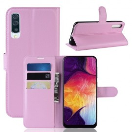 Book Case Samsung Galaxy A50 Hoesje - Pink
