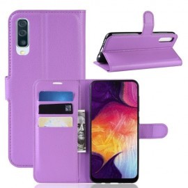 Book Case Samsung Galaxy A50 / A30s Hoesje - Paars