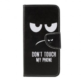 Book Case Samsung Galaxy A50 Hoesje - Don't Touch
