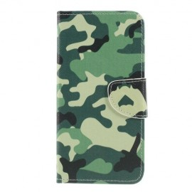 Book Case Samsung Galaxy A50 Hoesje - Camouflage