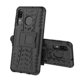 Rugged Kickstand Samsung Galaxy A50 Hoesje - Zwart