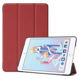 Smart Book Case iPad Mini 5 / Mini 4 Hoesje - Bordeaux