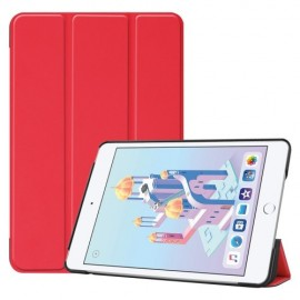 Smart Book Case iPad Mini 5 / Mini 4 Hoesje - Rood