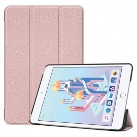 Smart Book Case iPad Mini 5 / Mini 4 Hoesje - Rose Gold