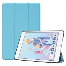 Smart Book Case iPad Mini 5 / Mini 4 Hoesje - Lichtblauw
