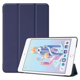Smart Book Case iPad Mini 5 / Mini 4 Hoesje - Donkerblauw