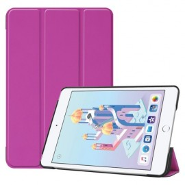 Smart Book Case iPad Mini 5 / Mini 4 Hoesje - Paars