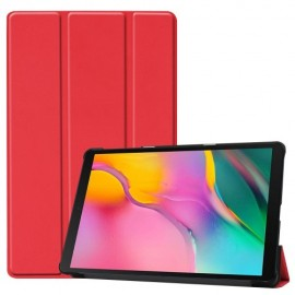 Book Case Samsung Galaxy Tab A 10.1 (2019) Hoesje - Rood