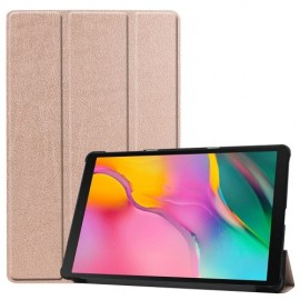 Smart Book Case Samsung Galaxy Tab A 10.1 (2019) Hoesje - Rose Gold
