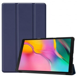Smart Book Case Samsung Galaxy Tab A 10.1 (2019) Hoesje - Donkerblauw