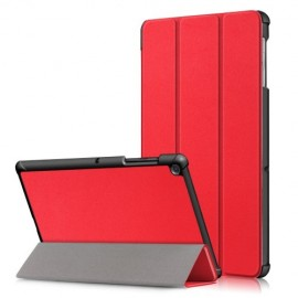 Smart Book Case Samsung Galaxy Tab S5e Hoesje - Rood