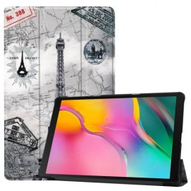 Smart Book Case Samsung Galaxy Tab A 10.1 (2019) Hoesje - Eiffeltoren