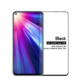 Full-Cover Tempered Glass Honor View 20 - Zwart