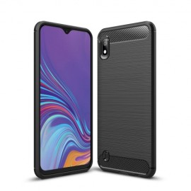 Armor Brushed TPU Samsung Galaxy A10 Hoesje - Zwart