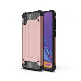 Armor Hybrid Samsung Galaxy A10 Hoesje - Rose Gold