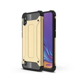 Armor Hybrid Samsung Galaxy A10 Hoesje - Goud