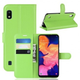 Book Case Samsung Galaxy A10 Hoesje - Groen